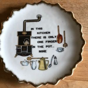 Vintage Nevco Plate made in Japan